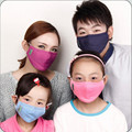Cotton PM2.5 Anti Haze Mask anti-dust storm mouth mask Activated carbon filter mask Thick Windproof Mouth-muffle Flu Face masks