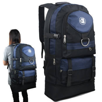 new 60 liters outdoor mountaineering bag large capacity men and women travel backpack big leisure sports