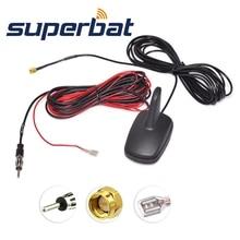 Superbat DAB/DAB+/FM/AM Автомобильная цифровая радио антенна на крыше с усиленным SMA штекерным разъемом