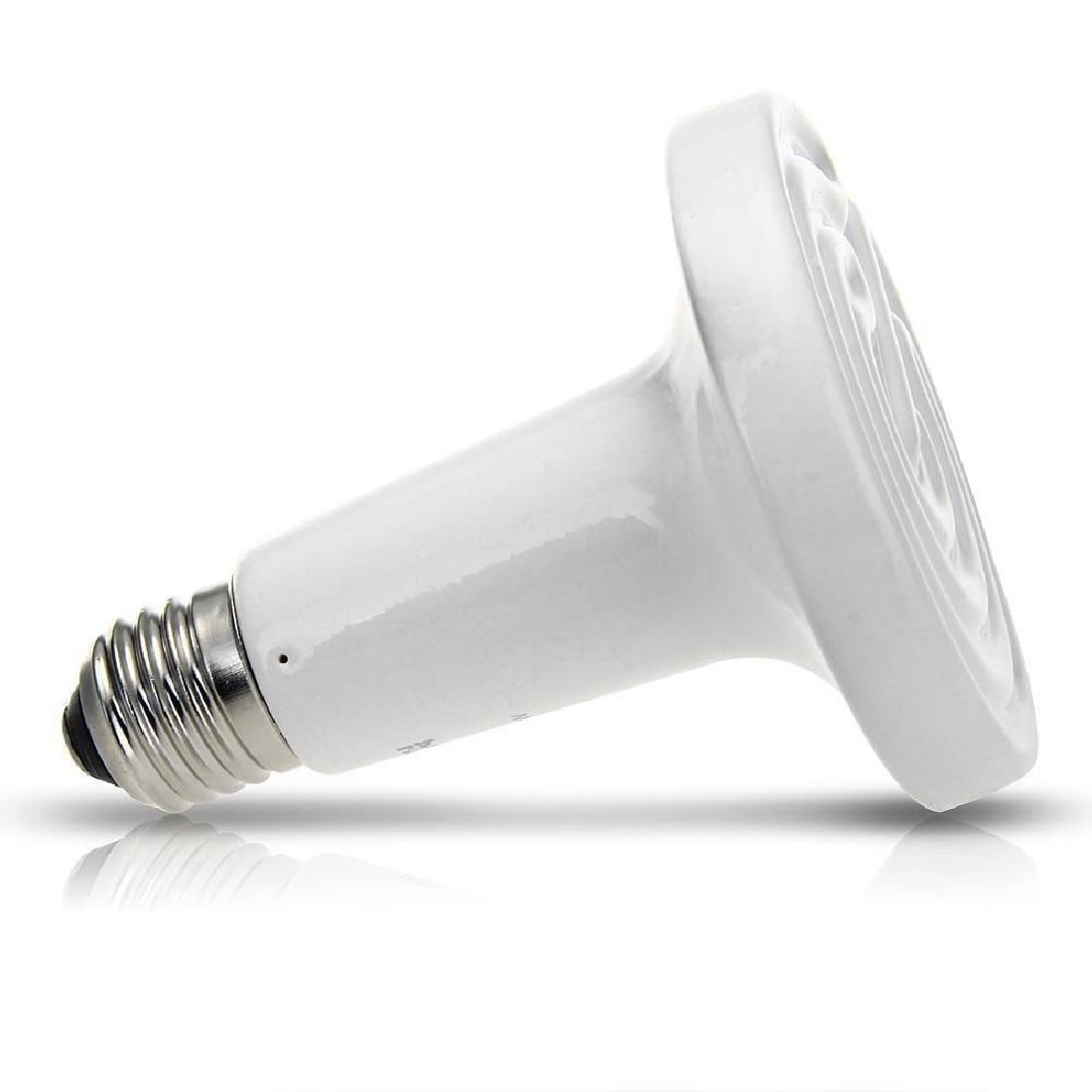 75W 220V Ceramic Heat Emitter Brooder Infared Lamp Bulb Reptile Grow LED Bulbs High-quality