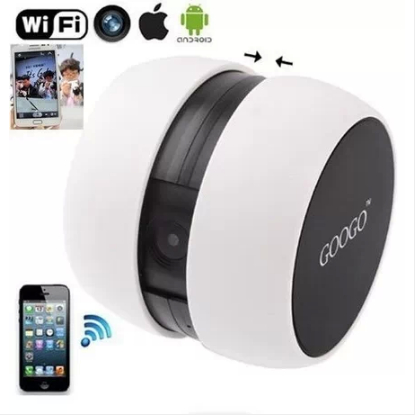 Googo Wifi IP Camera Wireless Portable Baby Monitor P2P Security Monitor Webcamera for IOS Android System