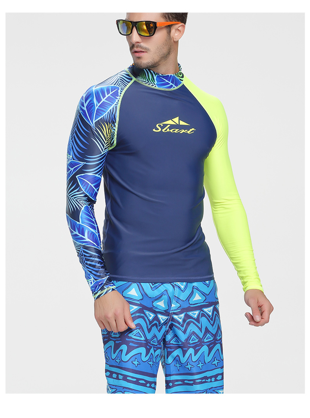 floatsuit topos uv natação rashguard
