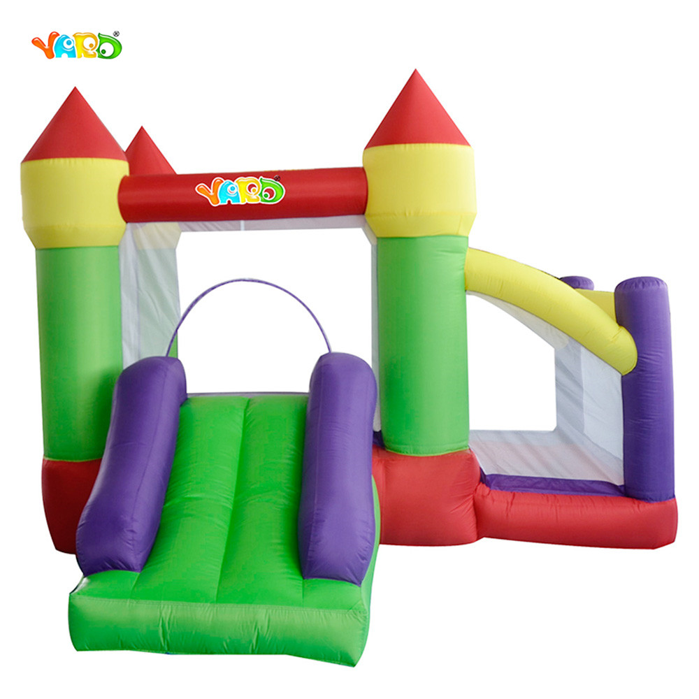 3 In 1 Inflatable Toys Bouncy Castle Trampoline With Mesh inflatable Ball Pool Slide Toys High Quality Party Game For Kids yard residential inflatable bounce house combo slide bouncy with ball pool for kids amusement