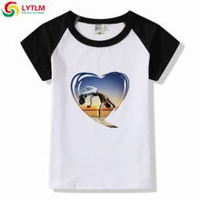LYTLM Children's Clothing For Boys Capoeira Girls T-shirt Cotton Short-sleeved Kids T-shirts Boy Hip Hop Street Sportwear Modis(China)