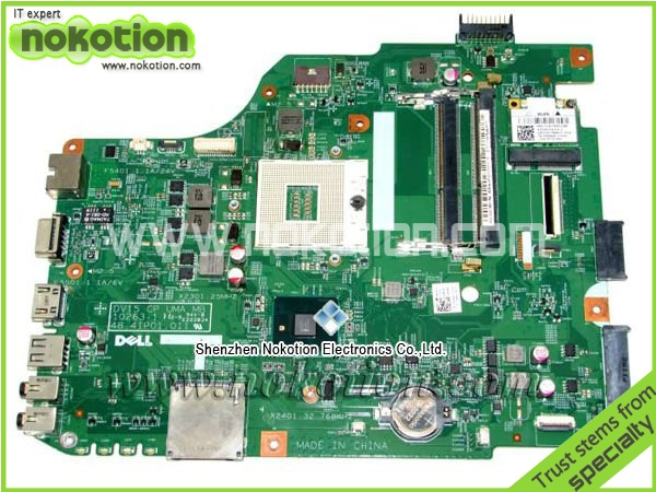 ФОТО Laptop Motherboard FOR DELL Inspiron N5040 48.4IP01.011 CN-0X6P88 15'' intel HM57 DDR3 Full Tested Good Quality