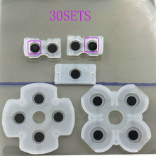 30sets Rubber Silicon Geleidende Button Pad Voor PS4 PlayStation 4 DualShock Controller