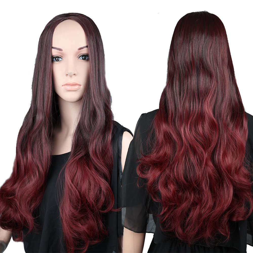 Fantastic Dark Red Hairstyles Reviews Online Shopping Dark Red Hairstyles Short Hairstyles Gunalazisus