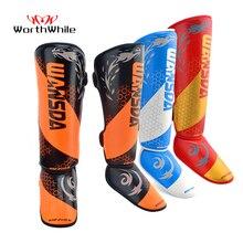 Стоит 1 пара ММА Бокс щитки лодыжки Поддержка Для мужчин Для женщин оборудование для кикбоксинга каратэ протекторы Санда Муай Тай леггинсы