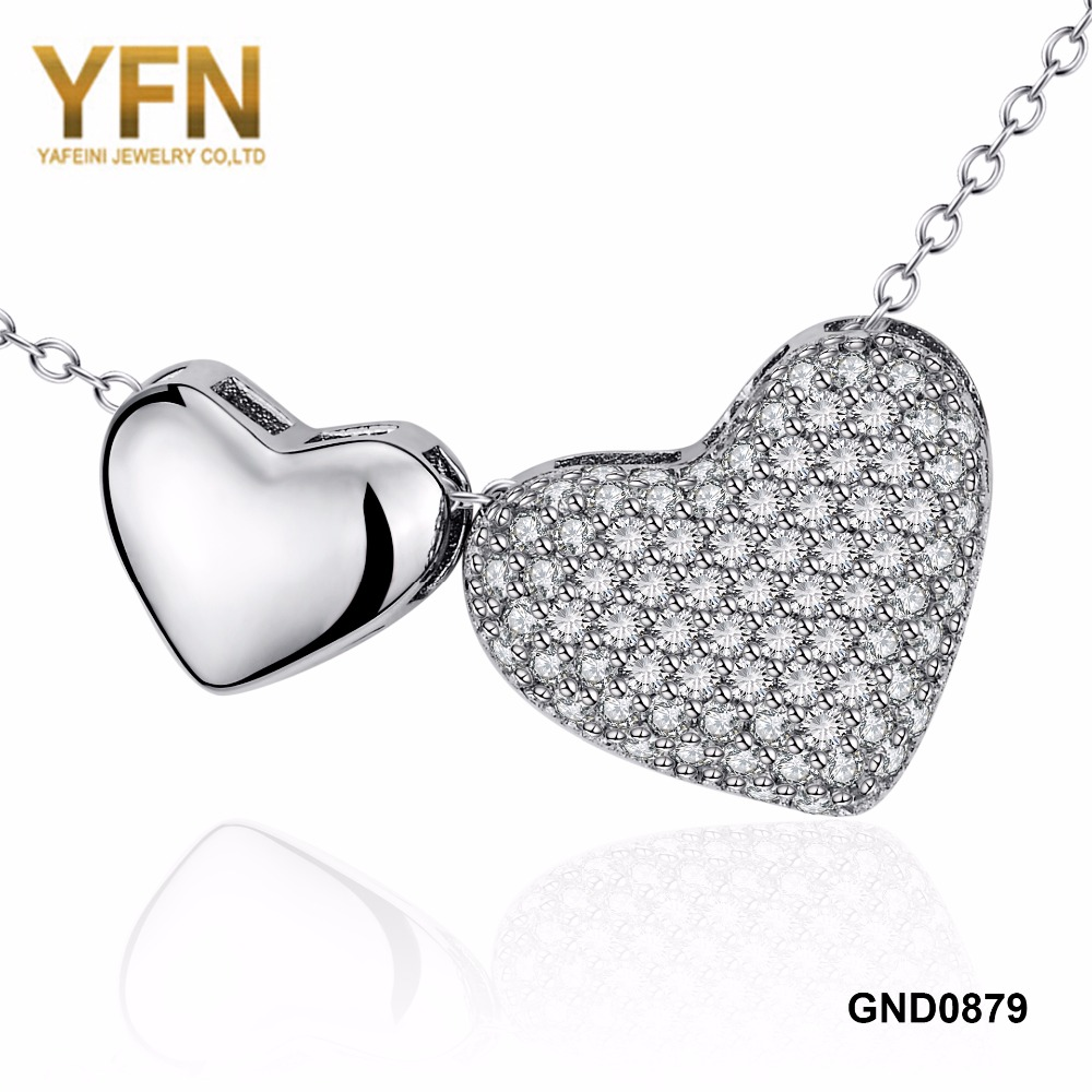 YFN 925 Sterling Silver Charm Love Heart Locket For Women Fashion Necklace Lover Jewelry Best Gifts For Girlfriend GND0879