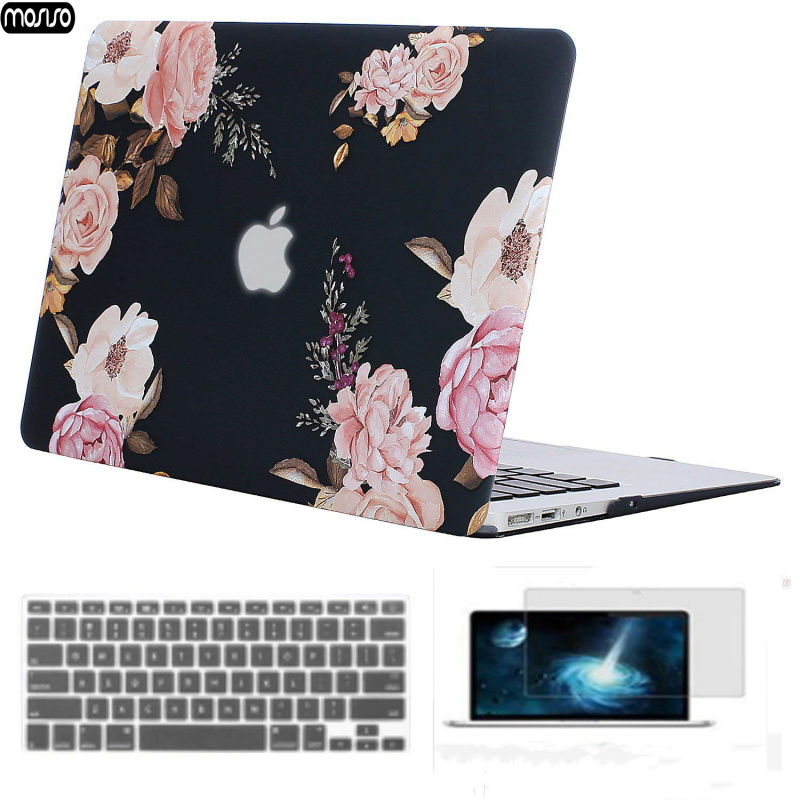 Image 3 - MOSISO 2019 Hot Sale Marble Pattern Laptop Case For Apple MacBook Pro Retina 13 15 Hard Case For MacBook 12 inch +Keyboard Cover-in Laptop Bags & Cases from Computer & Office