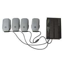 Зарядное устройство для Mavic Pro Quadcopter DJI Интеллектуальный Аккумулятор AC Быстрый 4 Батареи Кабель Порта и 2 Порта USB 6 в 1