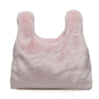 2017 новые модные милые женские сумки Велюр меха сумка-мешок розовые женские Сумки с короткими ручками высокое качество женские сумки
