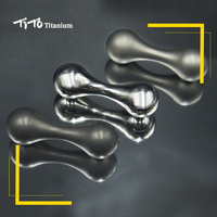TiTo EDC Titanium alloy Bone shape pocket Limit Hand Movement Multi Tools non fingertip gyroscope