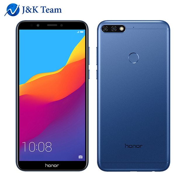 "Huawei Honor 7C 4G LTE Mobilephone Face ID 5.99"" Full View Screen Android 8.0 Qualcomm 450 1.8GHz*8 13MP Dual Rear Camera"
