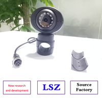 LSZ Hikvision waterproof car camera AHD720P/960P monitoring CCTV infrared anti seismic side mounted probe 360 rotation without d