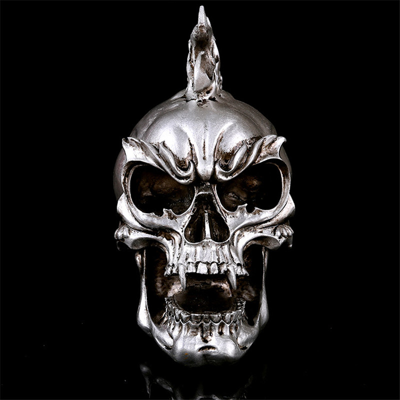 Creative Home Decoration Accessories Resin Skull Statue&Sculpture Ornaments Halloween Party Decoration Skull Sculpture Ornament
