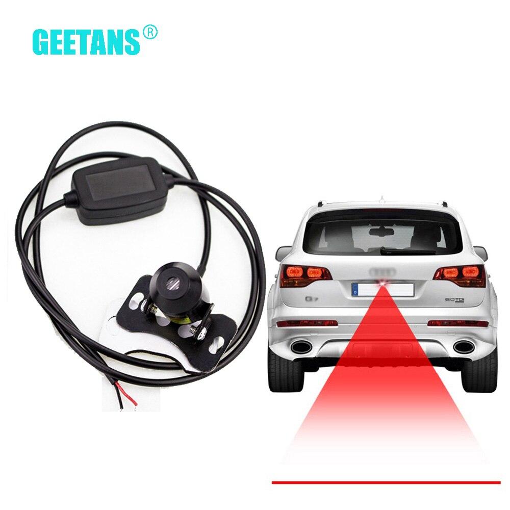 Heißer! Gerade linie Anti Kollision Auto Laser Schwanz Nebel Licht Auto Reverse Licht Parkplatz Licht Bremslicht Platte Lampe Draht E