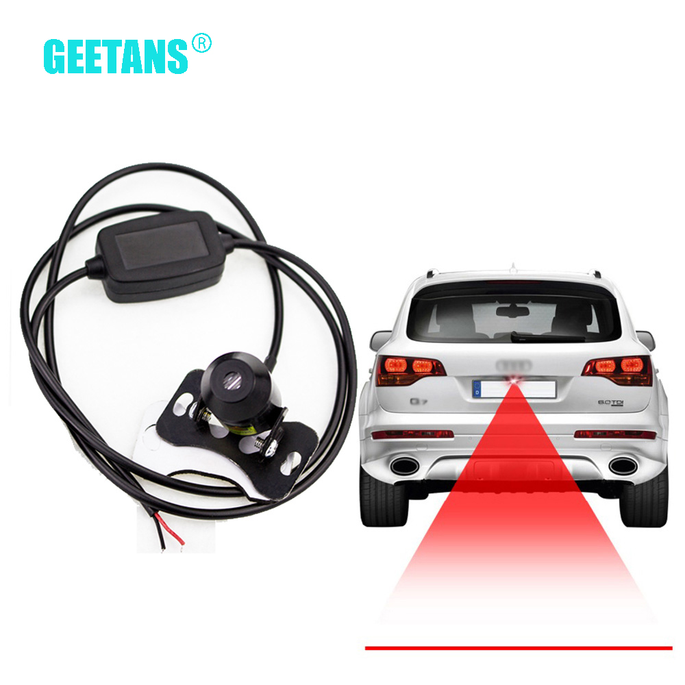 Hot! Straight line Anti Collision Car Laser Tail Fog Light Auto Reverse Light Parking Light Brake Light Plate Lamp Wire E