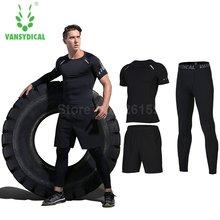 Vansydical мужские спортивные костюмы для бега мужчин комплекты