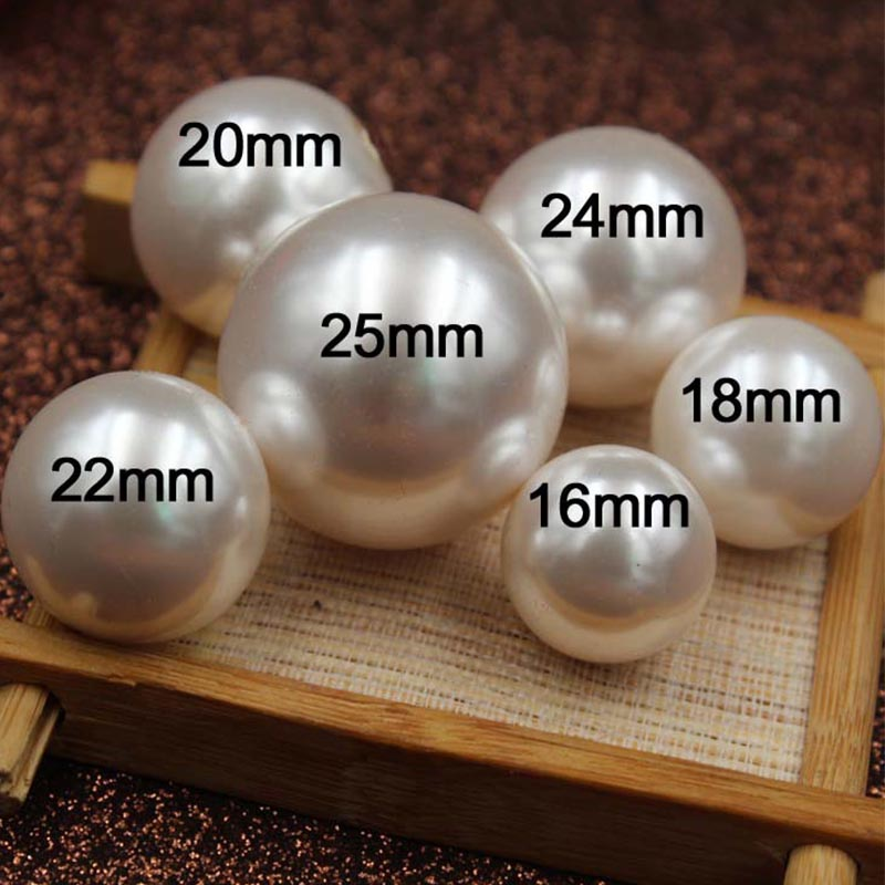 10pcs High-Quality Japanese Pearl Cabochon 22mm