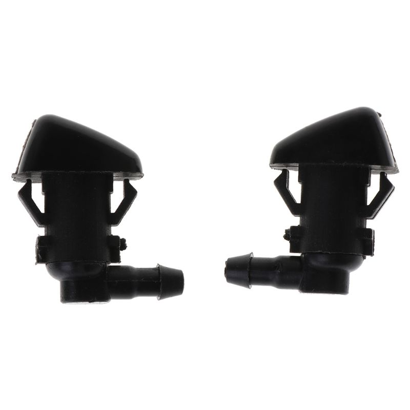 2PCS Front Windshield Washer Nozzles For Jeep Liberty 08-12 For Jeep Commander For 06-10 Dodge Nitro 07-11 55157319AA, 4806312AA