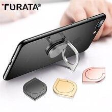 TURATA 3 in 1 Fingertip Gyro Metal Finger Ring Holder Smartphone Mobile Phone Finger Stand
