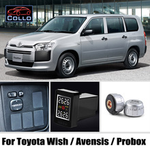 Special TPMS For TOYOTA Wish / Avensis / Probox / Tire Pressure Monitoring System Of External Sensors / DIY Install So Easy
