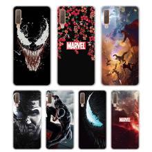 Silicone Phone Case Venom Printing for Samsung Galaxy A8S A9 A8 Star A7 A6 A5 A3 Plus 2018 2017 2016 Cover