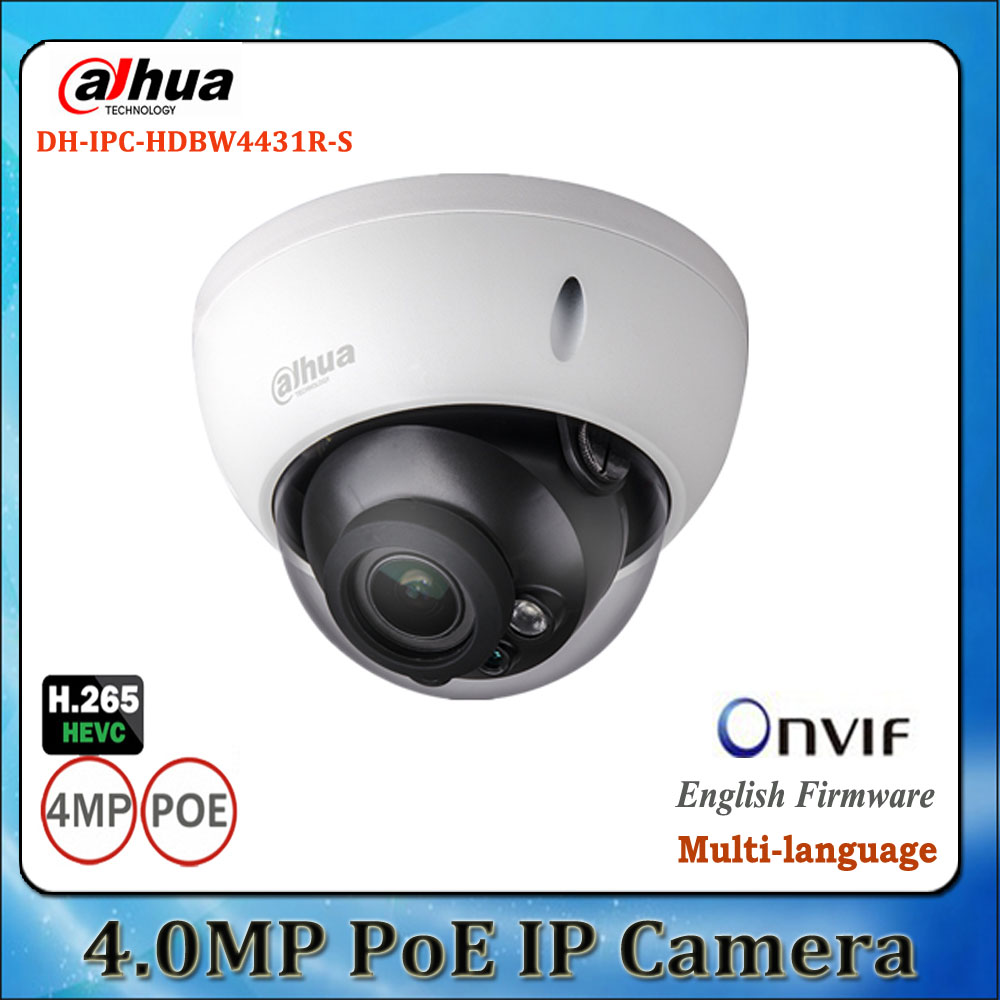 bilder für Neue ankunft dahua ipc-hdbw4431r-s ersetzen ipc-hdbw4421r h2.65 h2.64 4mp ik10 ip67 ip-kamera dh-ipchdbw4431r-s mit poe sd slot