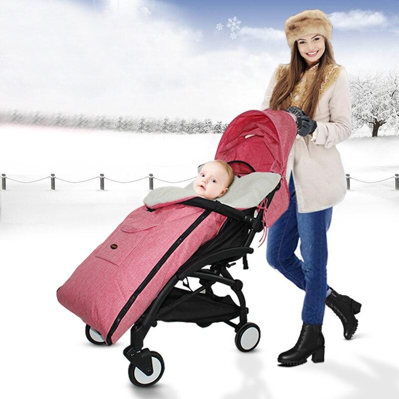 Winter Stroller Accessories Foot Muff Cover Footmuff Baby Sleeping Bag For Babayzen YOYO + YOYA