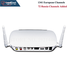 Updated IPTV Russia Channels Added Quad Core Android 4.4 WiFi HDMI TV Box + 1 Year Subscription 1341 European Arabic Channels