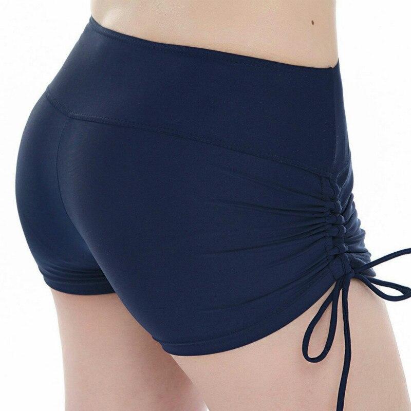Women Shorts Quick Dry Breathable Sports Running Fitness Drawstring Swimming pantalon corto