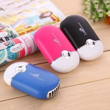 Mini Portable Hand Held Desk Air Conditioner Humidification Cooler Cooling Fan mini portable cooling fan hand battery fan cute held desk cooler air conditioner smaller air appliance machine for travel