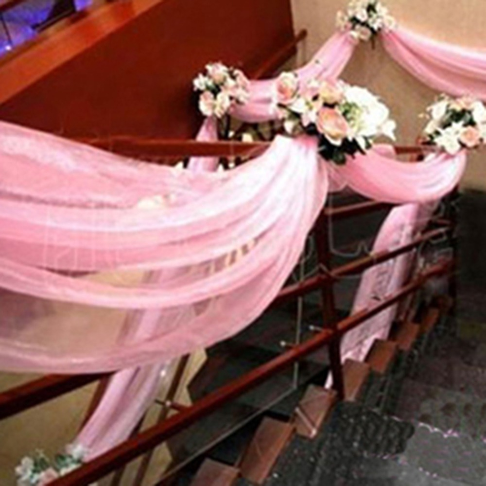 10075m wedding gauze curtain marriage room decoration yarn wedding 10075m wedding gauze curtain marriage room decoration yarn wedding supplies silk party arch stairs car chair flowe decoration on aliexpress alibaba junglespirit Choice Image