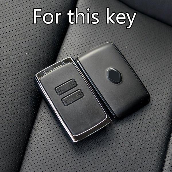 Schlüssel Hülle Silikon für Renault C Cover Clio Megane 4 Kadjar Captur Rosa