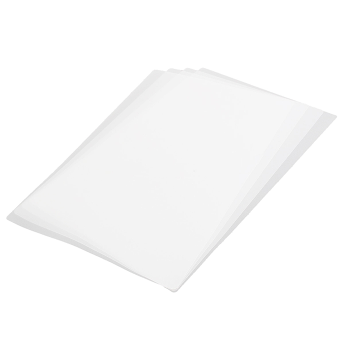 4 sheetsTransparent plastic mattresses perspective pad protection cover