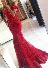 Robe De Soiree Mermaid Abendkleid Longue Blume Mädchen Kleider Formale Kleid