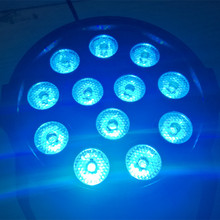 LED Par Light 12LEDS 3IN1 Stage Lighting DMX 512 18W 1.5*12LED Club Disco Party Ballroom KTV Bar Wedding DJ