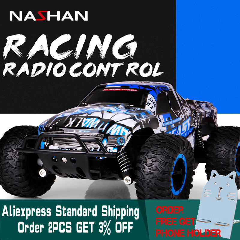 Machine sur Télécommande 1:16 4WD Radio RC Voiture 2.4g Super Cross-Country Escalade Véhicule RC Voiture Buggy SUV Bigfoot dérive Jouet De Voiture