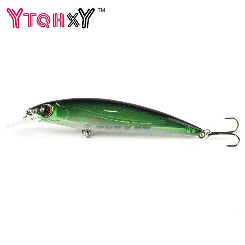 1PCS Laser Minnow Fishing Lure 11cm 13.5g pesca hooks fish wobbler tackle crankbait artificial japan hard bait swimbait YE-38 2pcs 16cm 60g fishing lure hard bait fish minnow artificial baits fishing wobbler japan pesca lures crankbait bass lure
