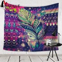 Miracille tapisserie indio pared decoración bohemia playa toalla yoga mat tapiz colgante de pared para el hogar colcha de color 2 tamaño