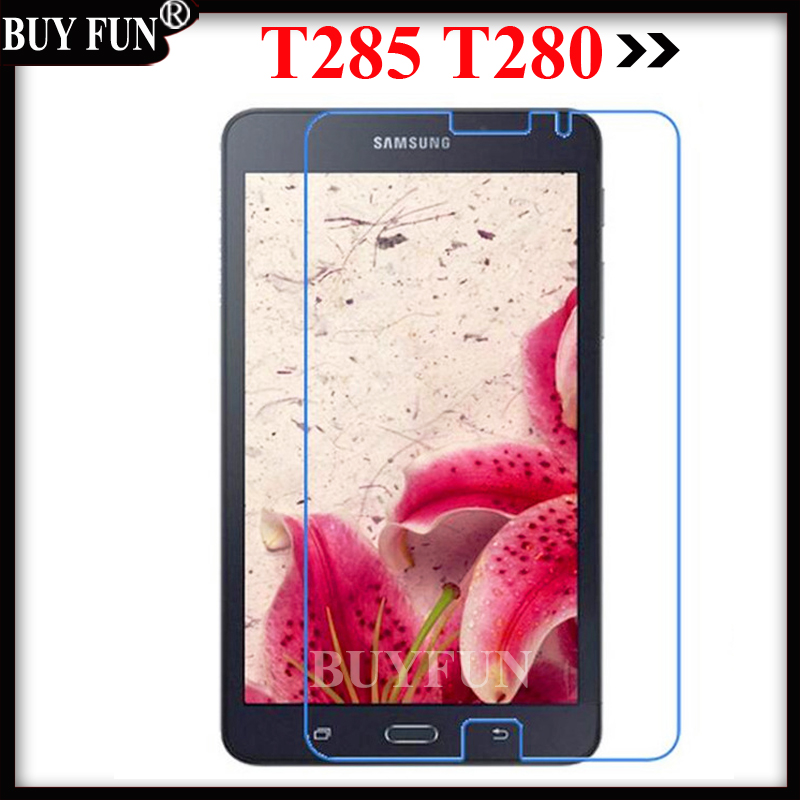 T280 T285 Tempered glass Screen Protector For Samsung Galaxy Tab A2016 T 285 280 LTE 7 A 2016 Case T285 T280 Protective Film
