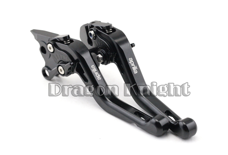 Motocycle Accessories For Aprilia TUONO V4R 11-14 Short Brake Clutch Levers Black