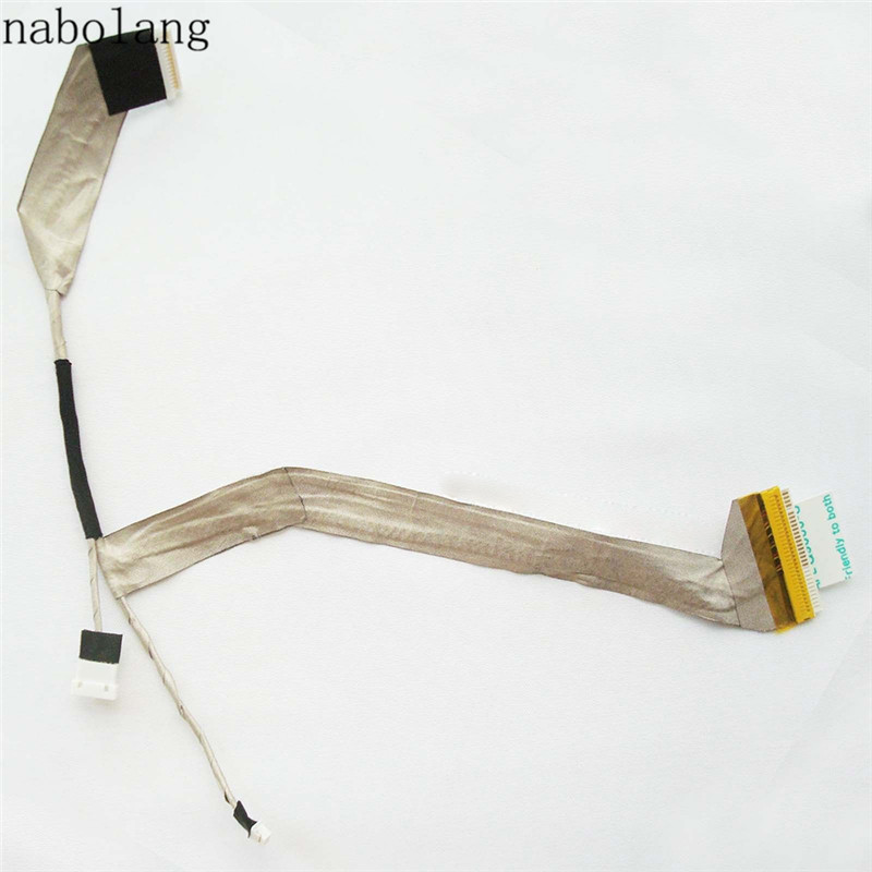 Nabolang LCD video Flex Cable for Toshiba Satellite M300 M305 M300D M305D L310 laptop Lcd screen video cable For Toshiba M300 tablet lcd flex cable for microsoft surface pro 5 model 1796 lcd dispaly screen flex cable m1003336 004