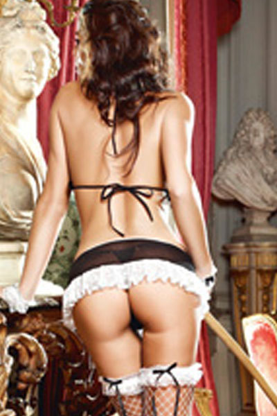 New Lingerie Mistress French Maid Costume LC8695