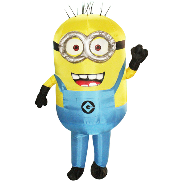 Minions Halloween Costume.Us 37 69 Purim Carnival Parade Costumes Minions Inflatable Adult Fancy Dress Costume Halloween Costume In Anime Costumes From Novelty Special Use
