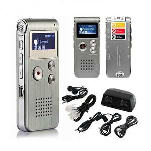Hobbylane Mp3-Player Dictaphone Audio-Recorder Digital-Sound 8GB D25 Lcd-Screen