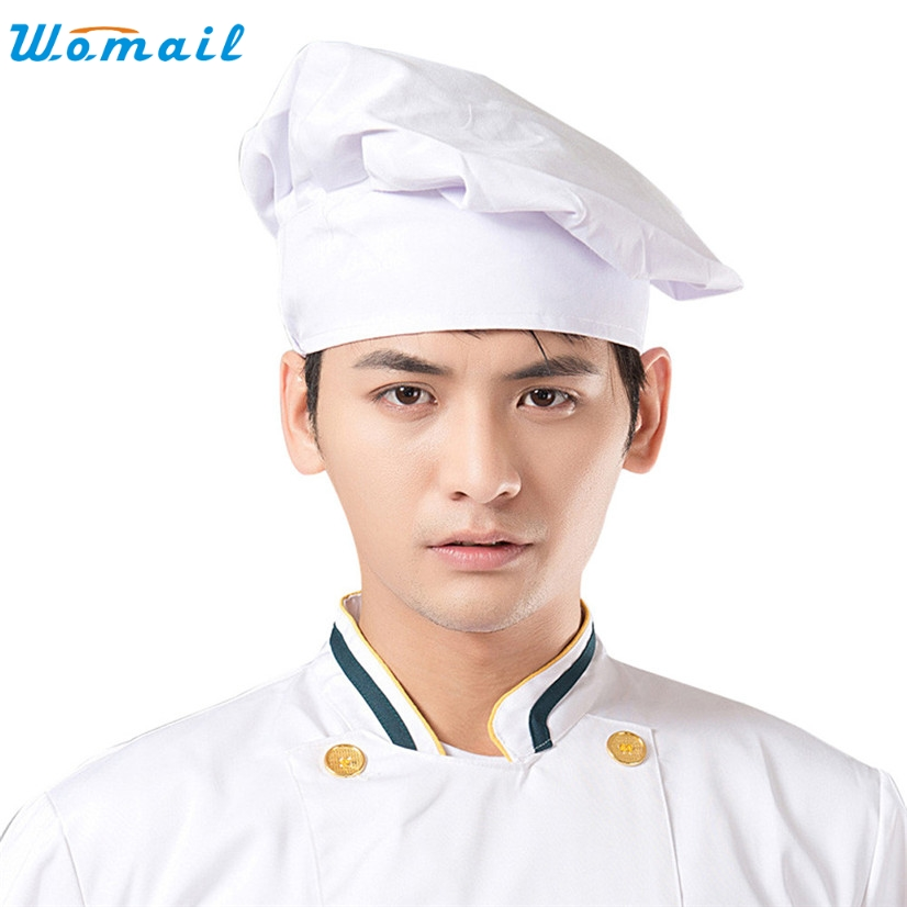 Chef Skullies WOMAIL Delicate Hot! Fashion New cap nacpback Works Hat Cooking Cook Food Prep Resturant W25 Apr30 skullies