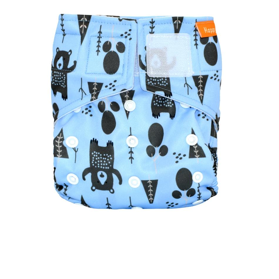 (12pcs / lot) Happy Flute OS Pañal de tela de bolsillo, con tela de - Pañales y entrenamiento para ir al baño - foto 6