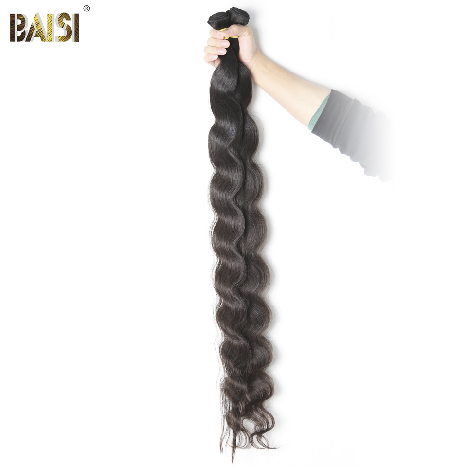 Baisi Hair Peruvian Virgin Hair Body Wave Long Hair Bundles 28 42 Inch 100 Human Hair
